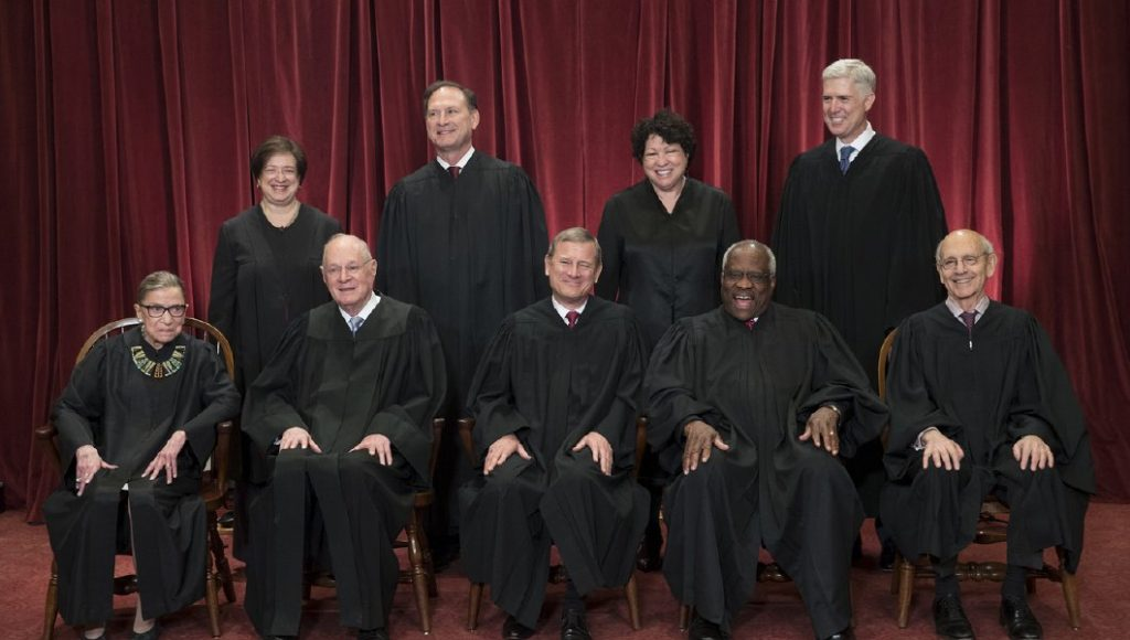 Study shows Supreme Court justices working together in unprecedented ways last term