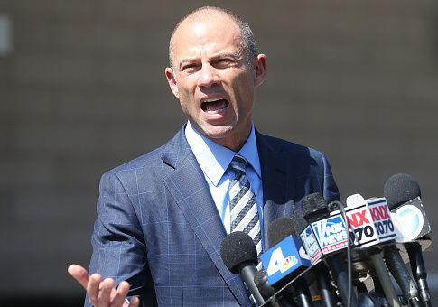 Stormy Daniels' Lawyer Attacks Reporter After Judge Orders His Firm to Pay $10 Million