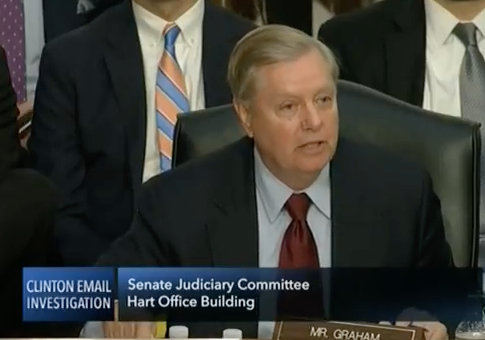 Graham to Justice Dept. IG on FBI's Handling of Clinton Email Probe: Eventually 'Very Concerned' Gets to Be 'Enough Already'