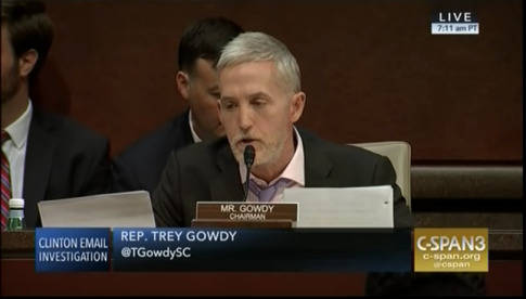 Gowdy Slams Comey for His 'Textbook Bias' in Handling Clinton Investigation