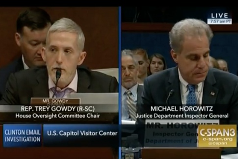 IG Horowitz: Bias in FBI Text Messages Are 'Completely Antithetical to the Core Values' of DOJ