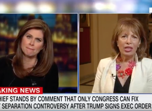 Speier Defends Hecklers Who Shouted at Nielsen in Restaurant, Blames It on Trump