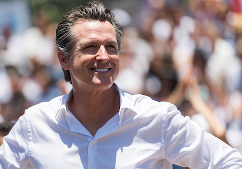 Newsom to Hold Hollywood Fundraiser With California Still Reeling From Wildfires