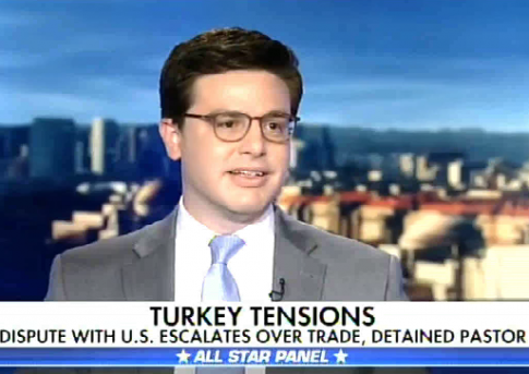 Continetti: Erdogan Using Tariffs as Cover for 'Economic Mess' and the Jailing of an American Pastor