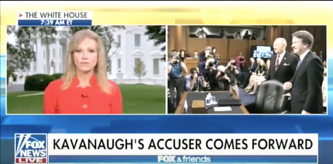 Kellyanne Conway on Kavanaugh Accuser: She Should Be Heard, Not Ignored or Insulted