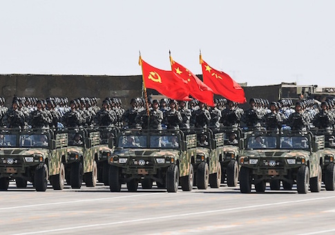 China Speeding Up Large-Scale Military Buildup