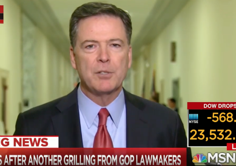 Comey Lashes Out at Republicans: They're 'In Fear' of Fox News, Mean Tweets