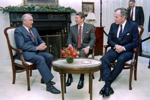 NYT Editorials About Deaths of Reagan, Bush Called Them Fortunate in Foreign Policy, Slammed Current Republican Presidents