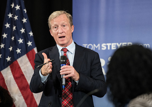 Steyer Posts Job Listings on Linkedin for Potential 2020 Campaign