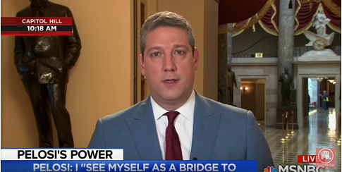 Tim Ryan: Agreement With Pelosi 'Institutes the Kind of Change We Want'