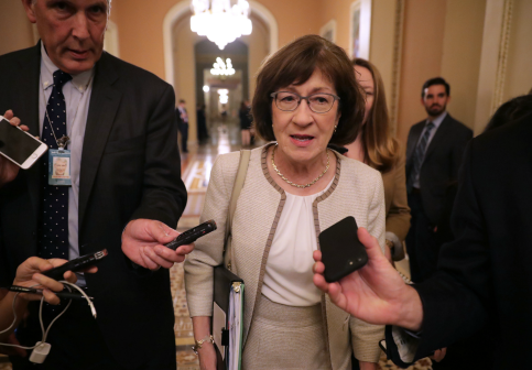 Susan Collins' Standing in Maine Unfazed by Democratic Anger Over Kavanaugh Vote