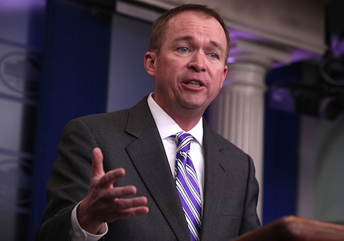 Mulvaney: Trump Personally Wrote Pro-Life Comments in State of the Union Speech