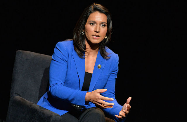 Gabbard Compares Haley, Bolton to Al-Qaeda: They All 'Want War With Iran'